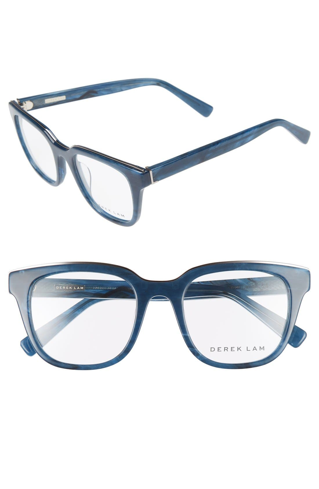 50mm Optical Glasses,                         Main,                         color, Blue Stone