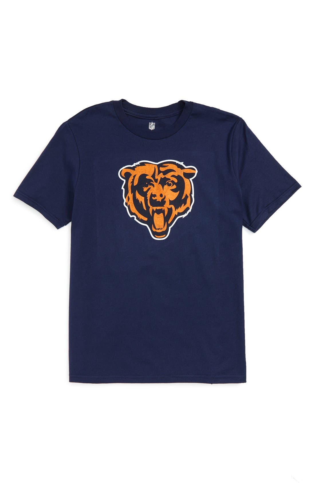 'NFL - Chicago Bears' Distressed Logo Graphic T-Shirt,                             Main thumbnail 1, color,                             Bears