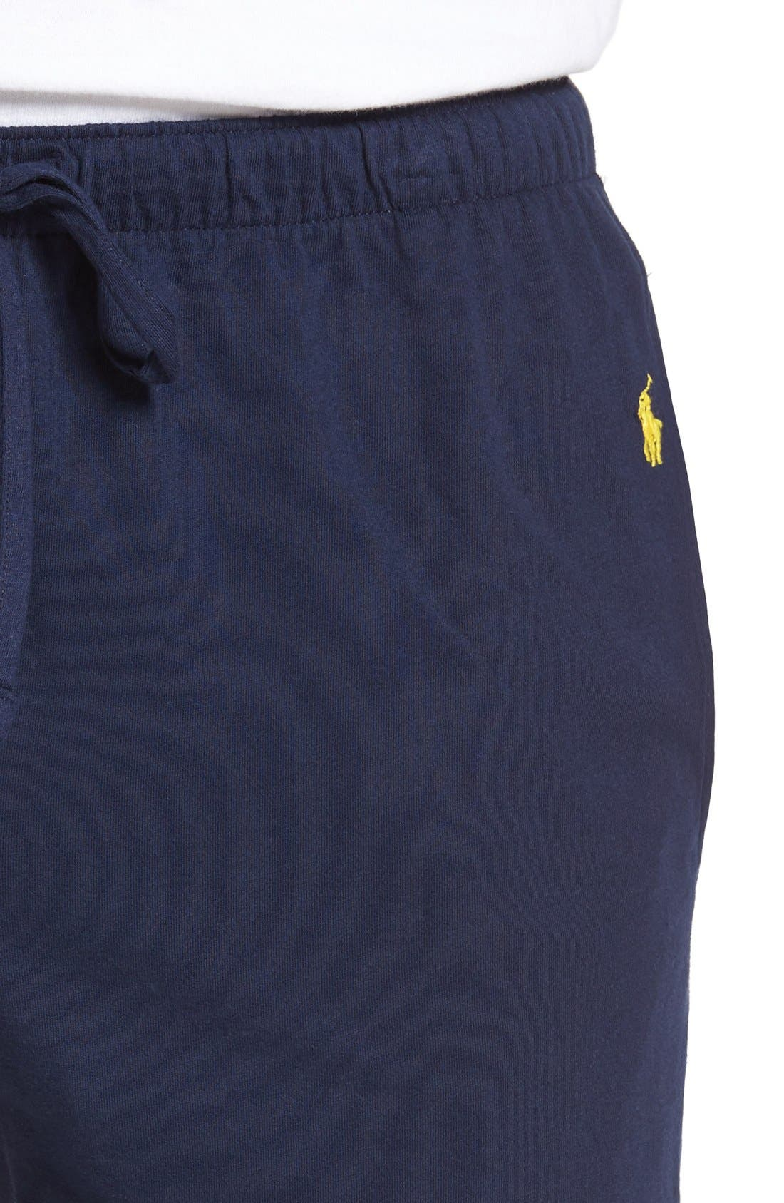 Alternate Image 4  - Polo Ralph Lauren Relaxed Fit Jogger Pants