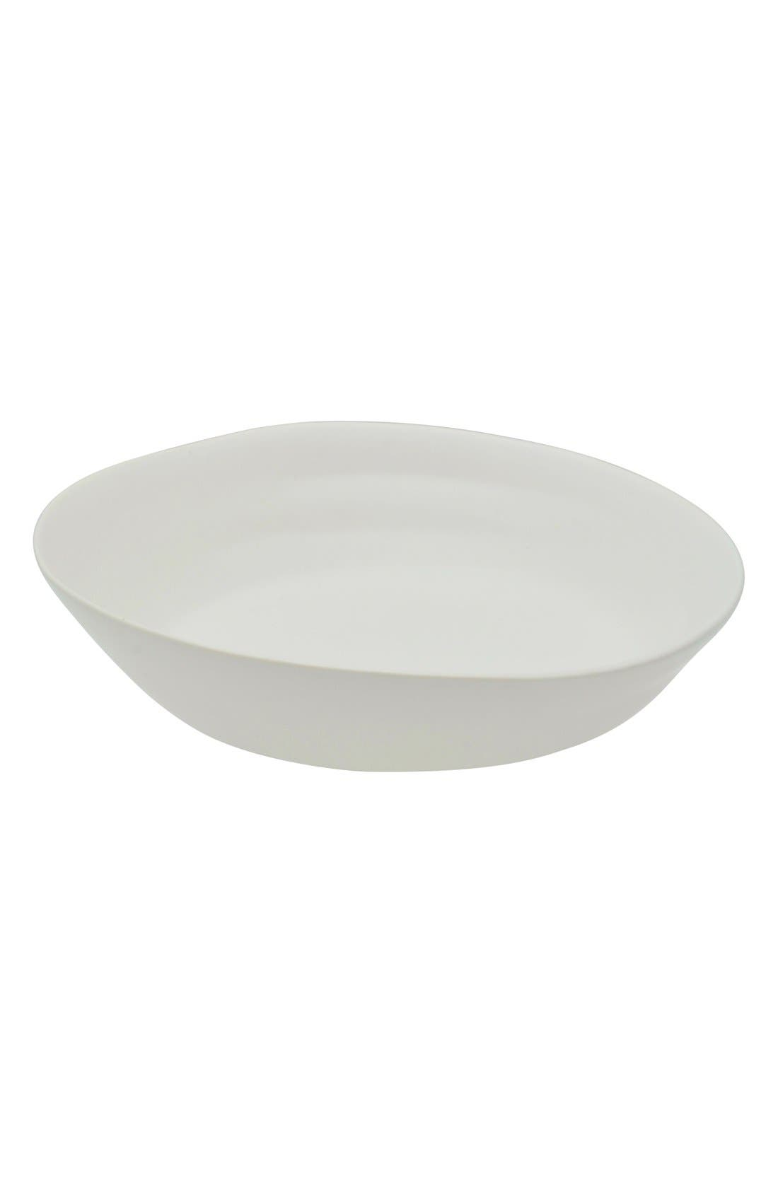 'Ripple' Small Porcelain Side Dishes,                         Main,                         color, White