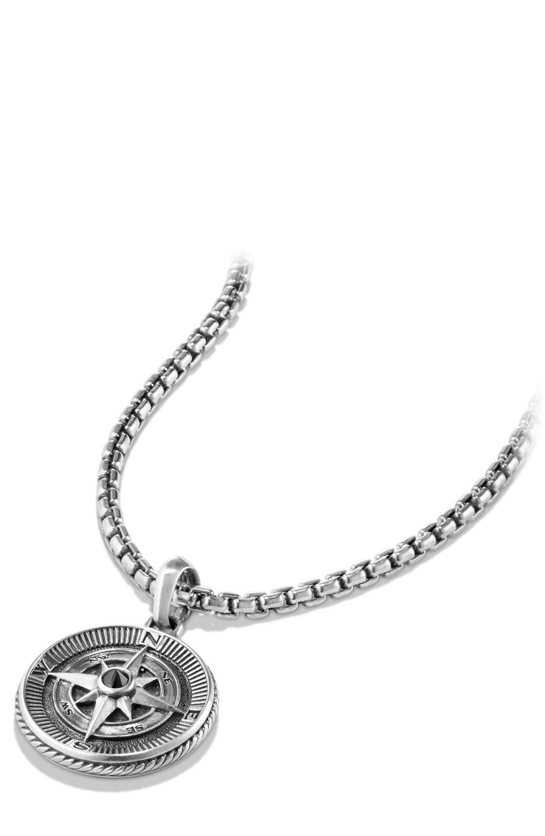 Alternate Image 3  - David Yurman 'Maritime' Compass Amulet with Black Diamond