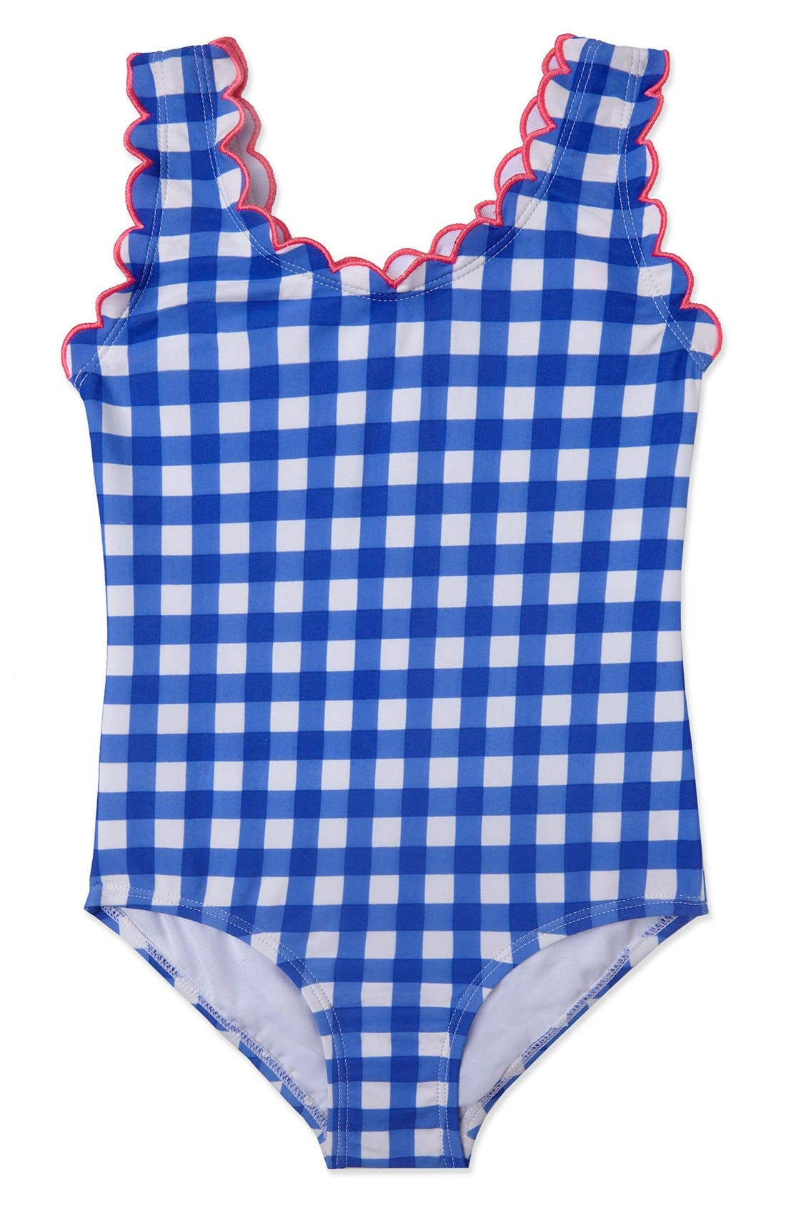 'Summer Skies' One-Piece Swimsuit,                             Main thumbnail 1, color,                             Cobalt