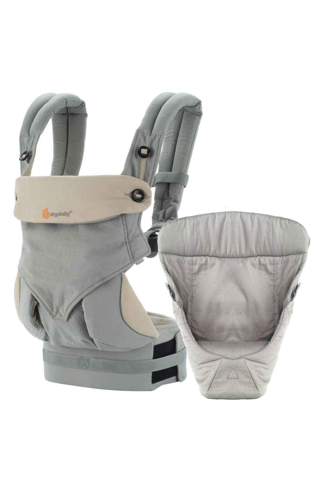 ERGObaby 'Four Position 360 - Bundle of Joy' Baby Carrier & Infant Insert