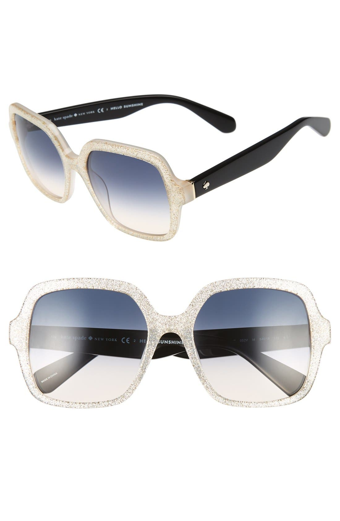 KATE SPADE NEW YORK katels 54mm sunglasses