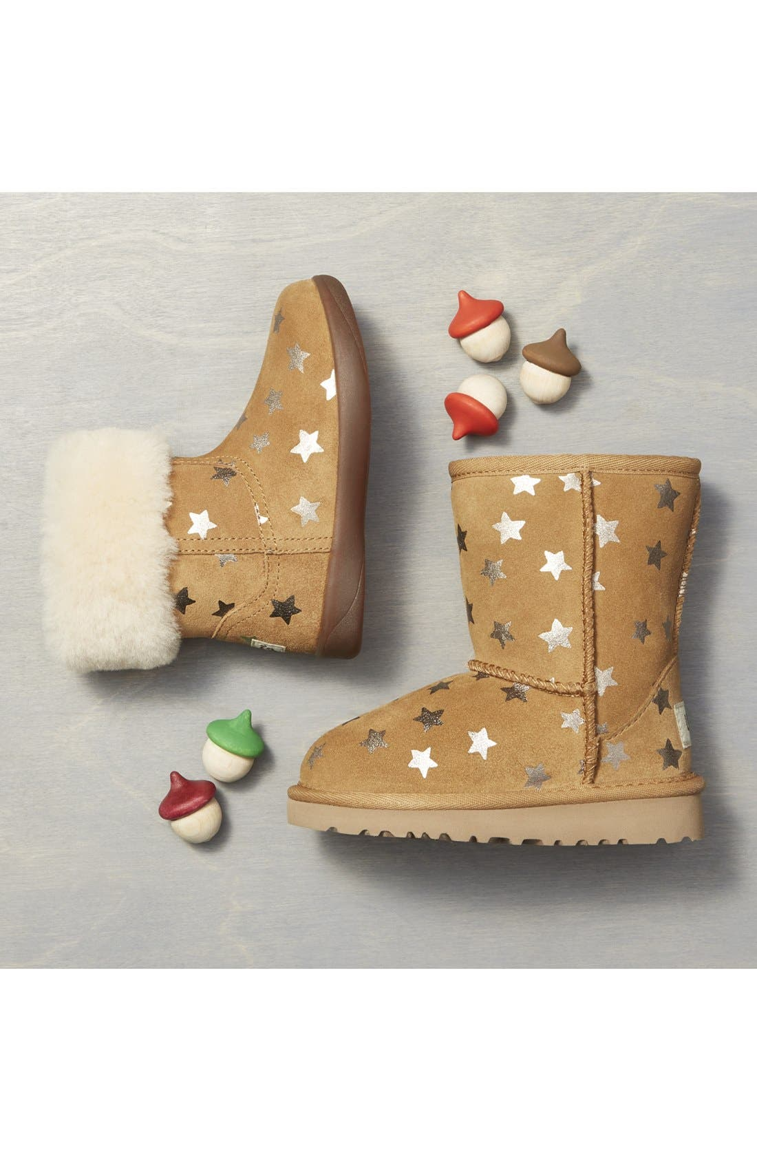 Alternate Image 5  - UGG® Classic - Stars Short Boot (Walker) (Nordstrom Exclusive)