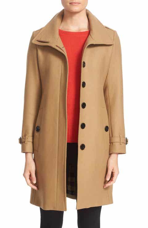 Beige Designer Wool Coats for Women | Nordstrom