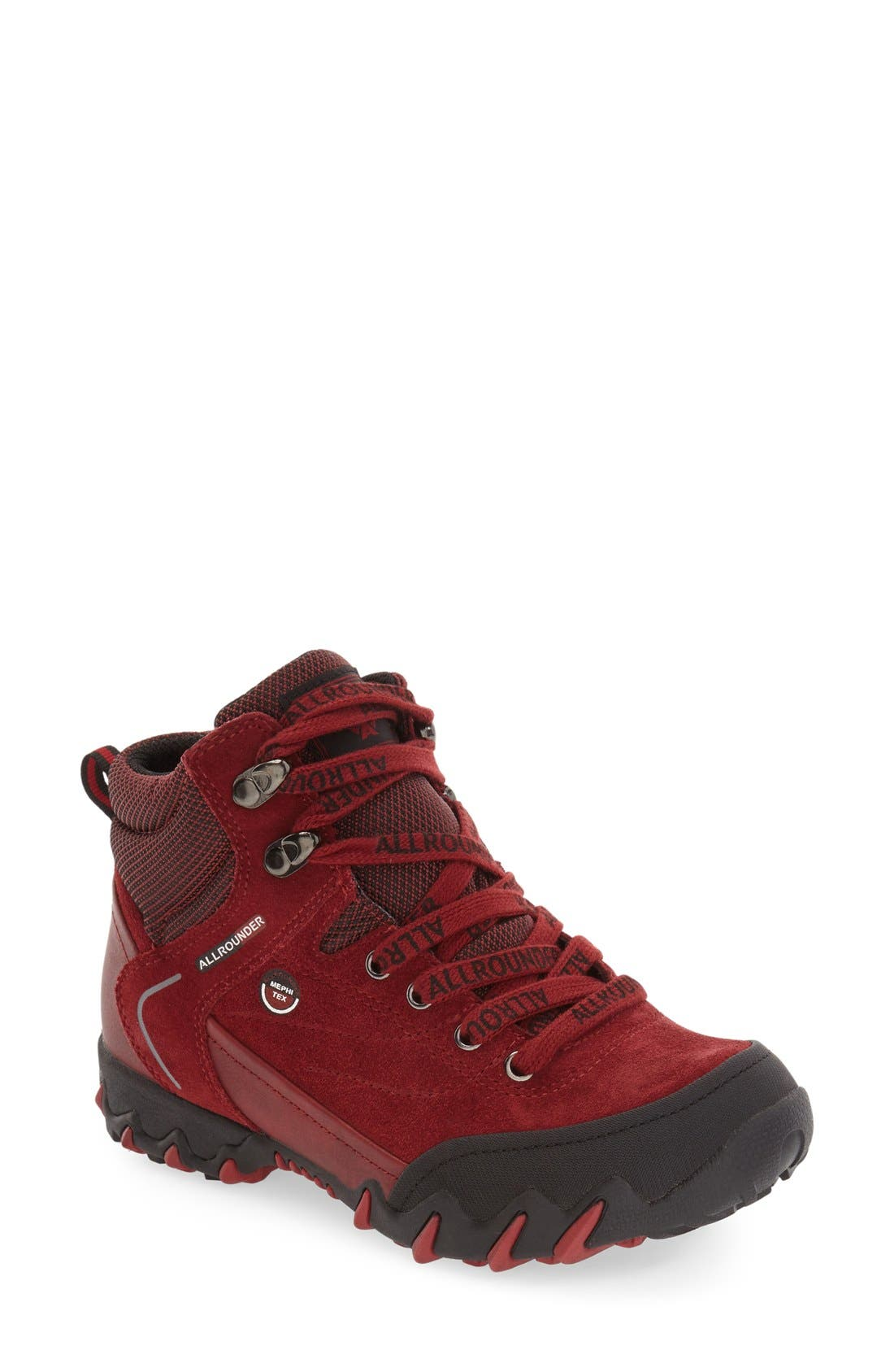 Alternate Image 1 Selected - Allrounder by Mephisto 'Nigata-Tex' Waterproof Sneaker (Women)