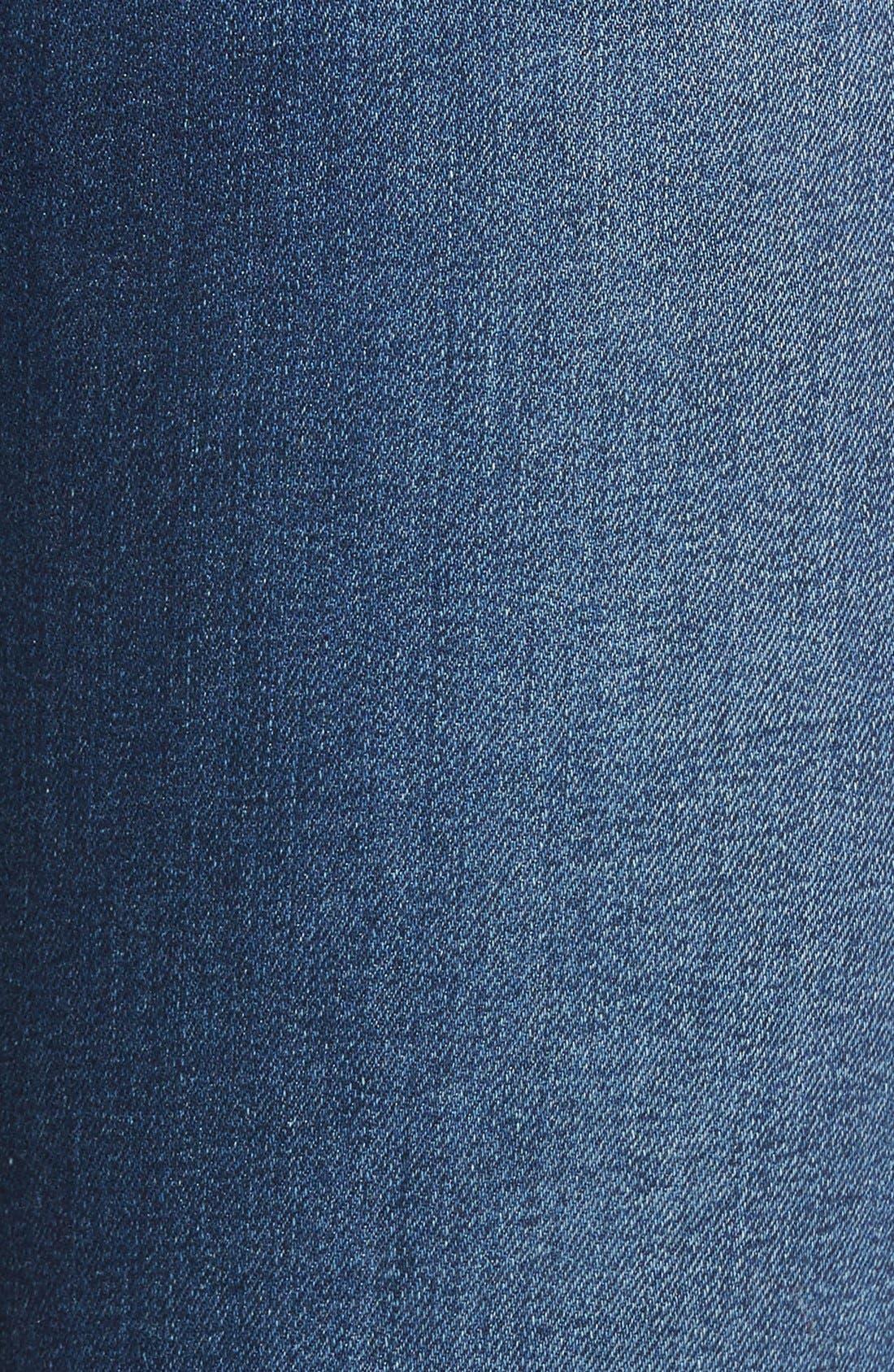 'Flawless - Honey' Curvy Bootcut Jeans,                             Alternate thumbnail 5, color,                             Lyla