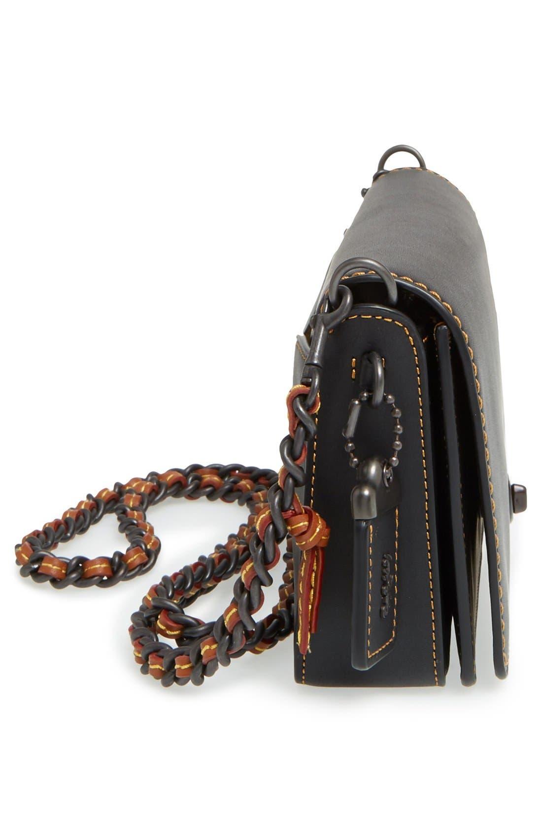 Alternate Image 5  - COACH 1941 'Dinky' Leather Crossbody Bag