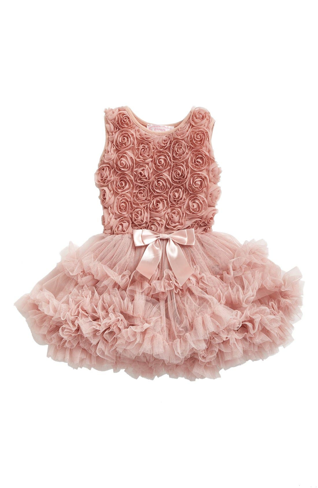 Popatu Ribbon Rosette Pettidress (Baby Girls)