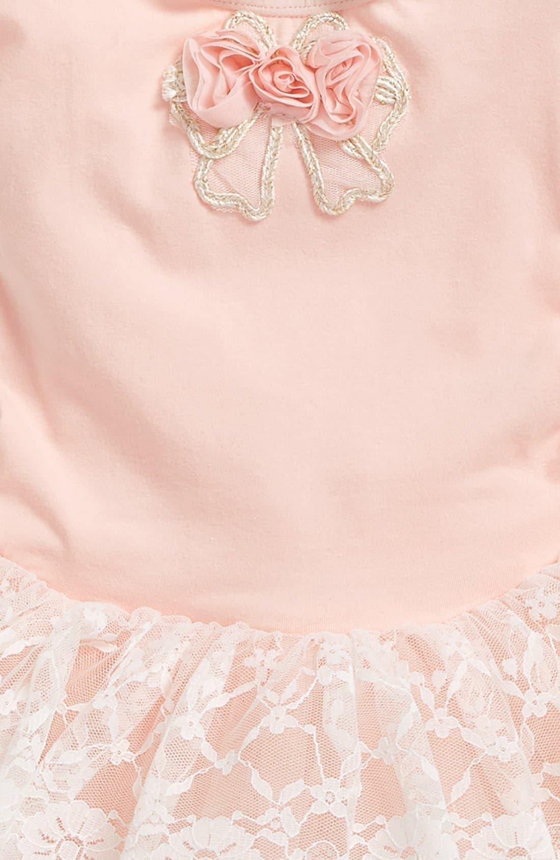 Alternate Image 2  - Popatu Floral Lace Tutu Dress (Baby Girls)