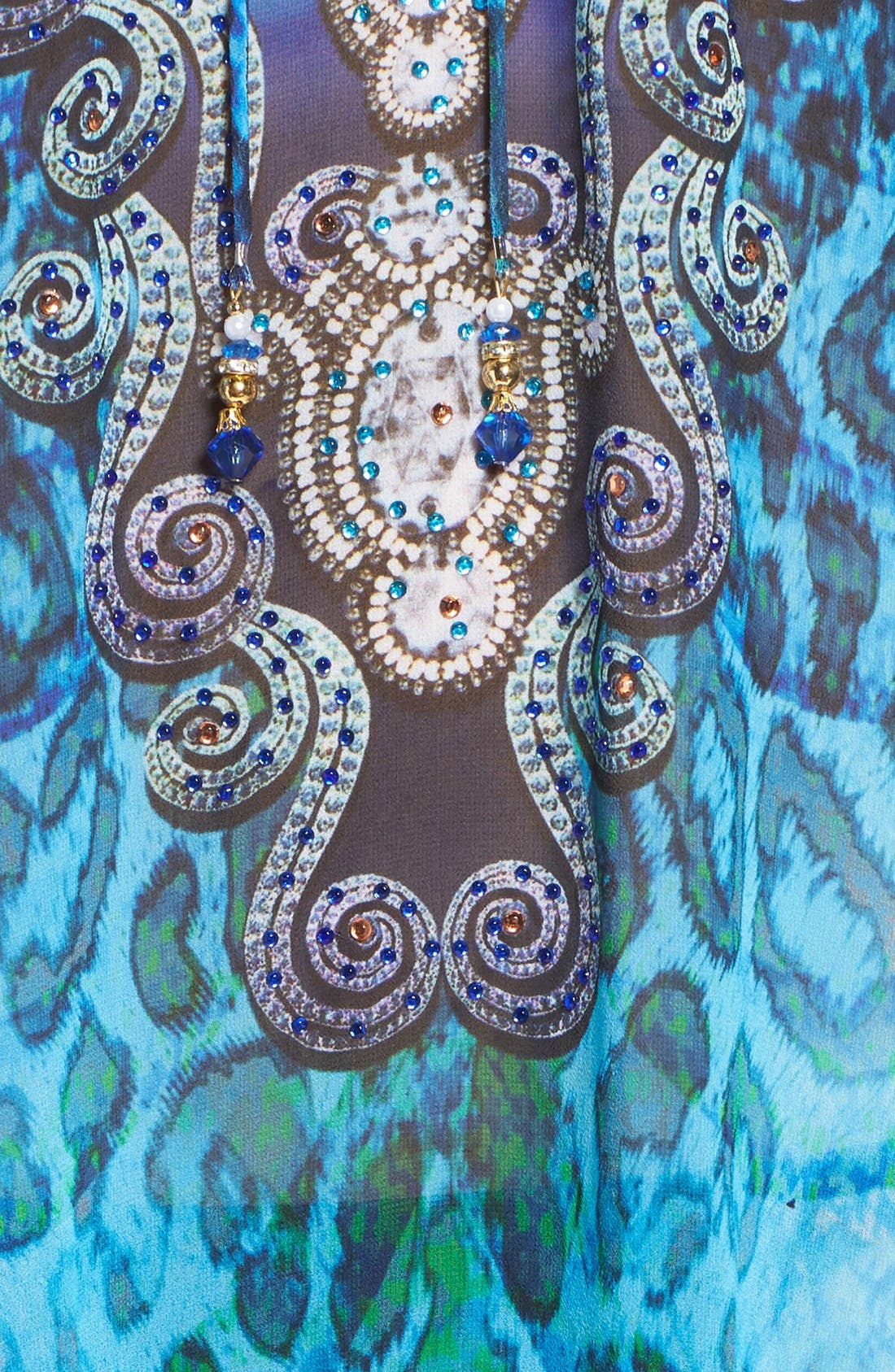 Alternate Image 5  - Asa Kaftans 'Santorini' Long Kaftan
