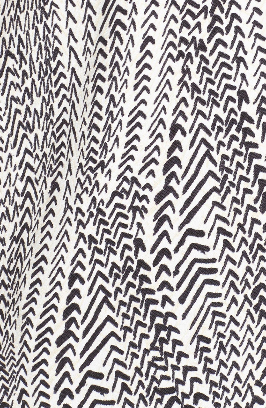 Alternate Image 5  - NIC+ZOE 'In Stitches' Print Sleeveless V-Neck Top