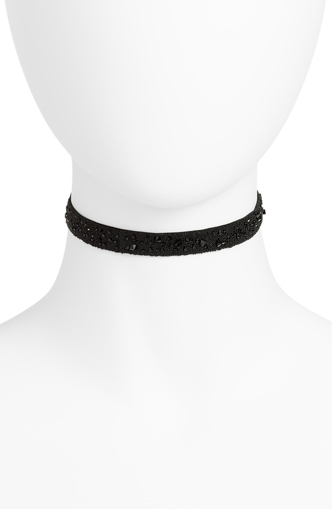 Alternate Image 1 Selected - Les interchangeables Medley Crystal Choker