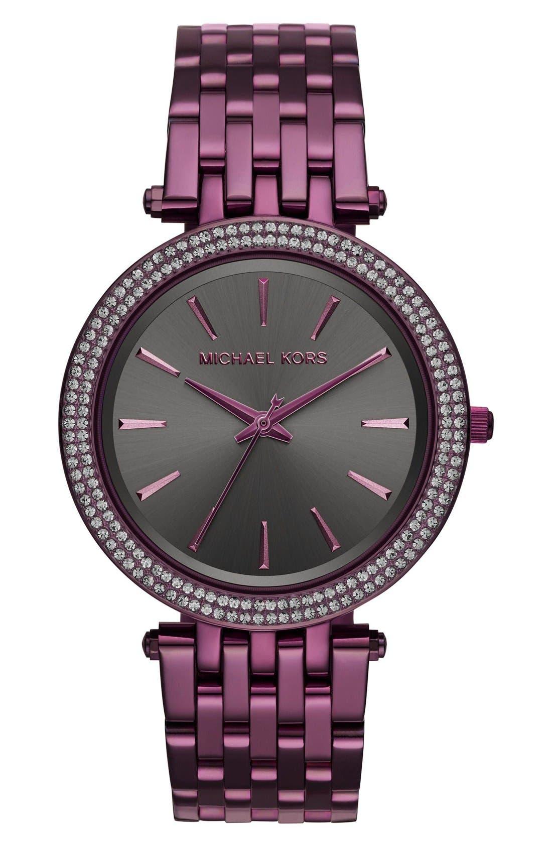 Alternate Image 1 Selected - Michael Kors 'Darci' Bracelet Watch, 39mm