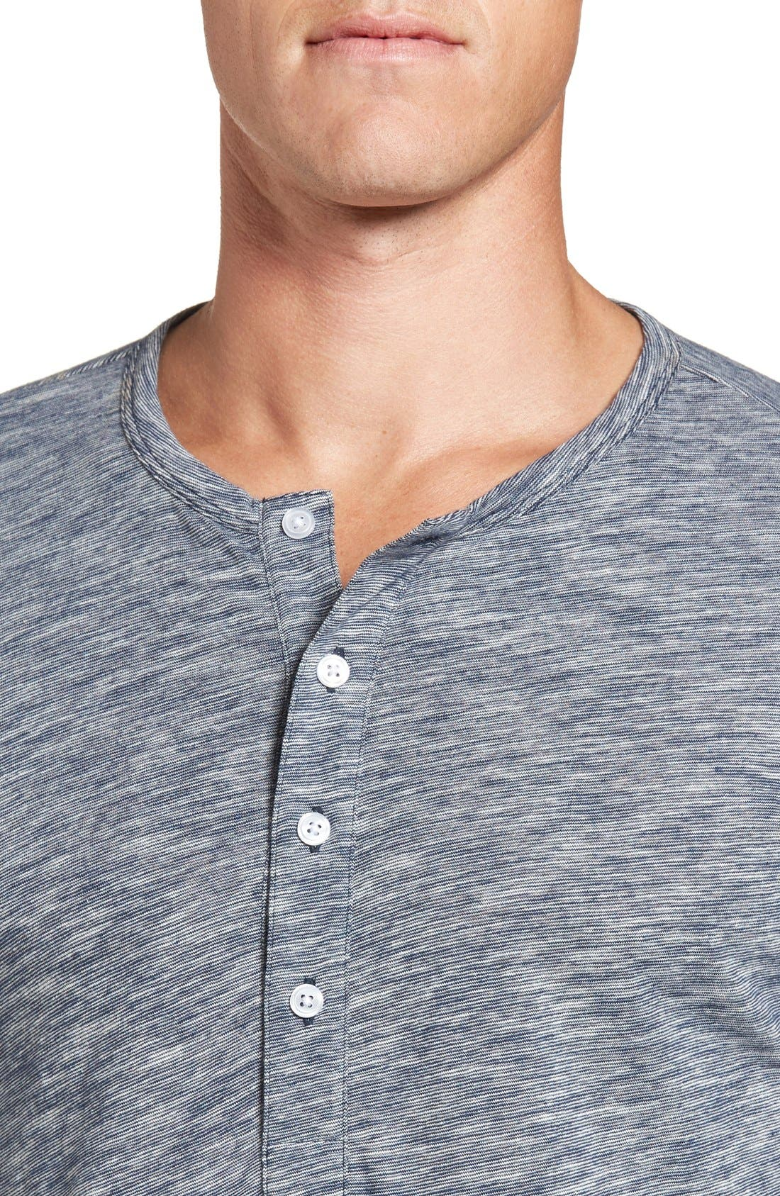 Alternate Image 4  - Bonobos Slim Fit Cotton Henley