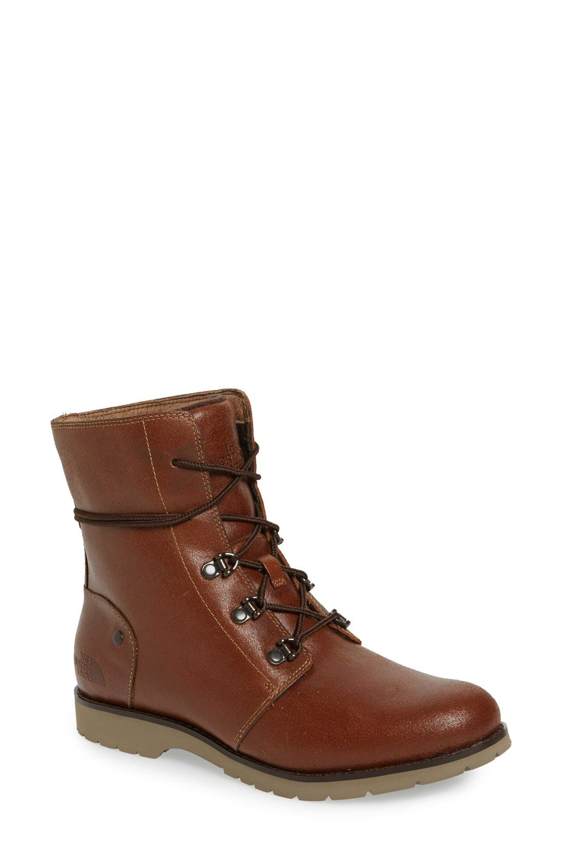 'Ballard' Boot,                             Main thumbnail 1, color,                             Dachshund Brown