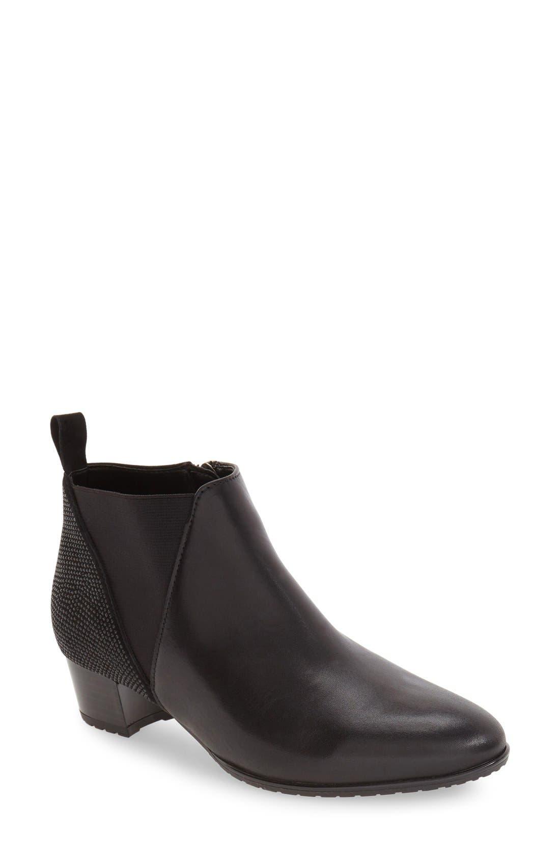 ara 'Patty' Block Heel Boot (Women)