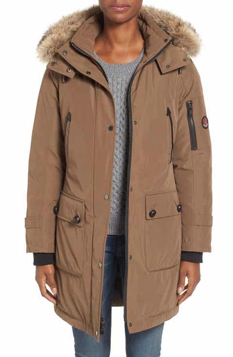 Women's Brown Down Coats & Jackets | Nordstrom