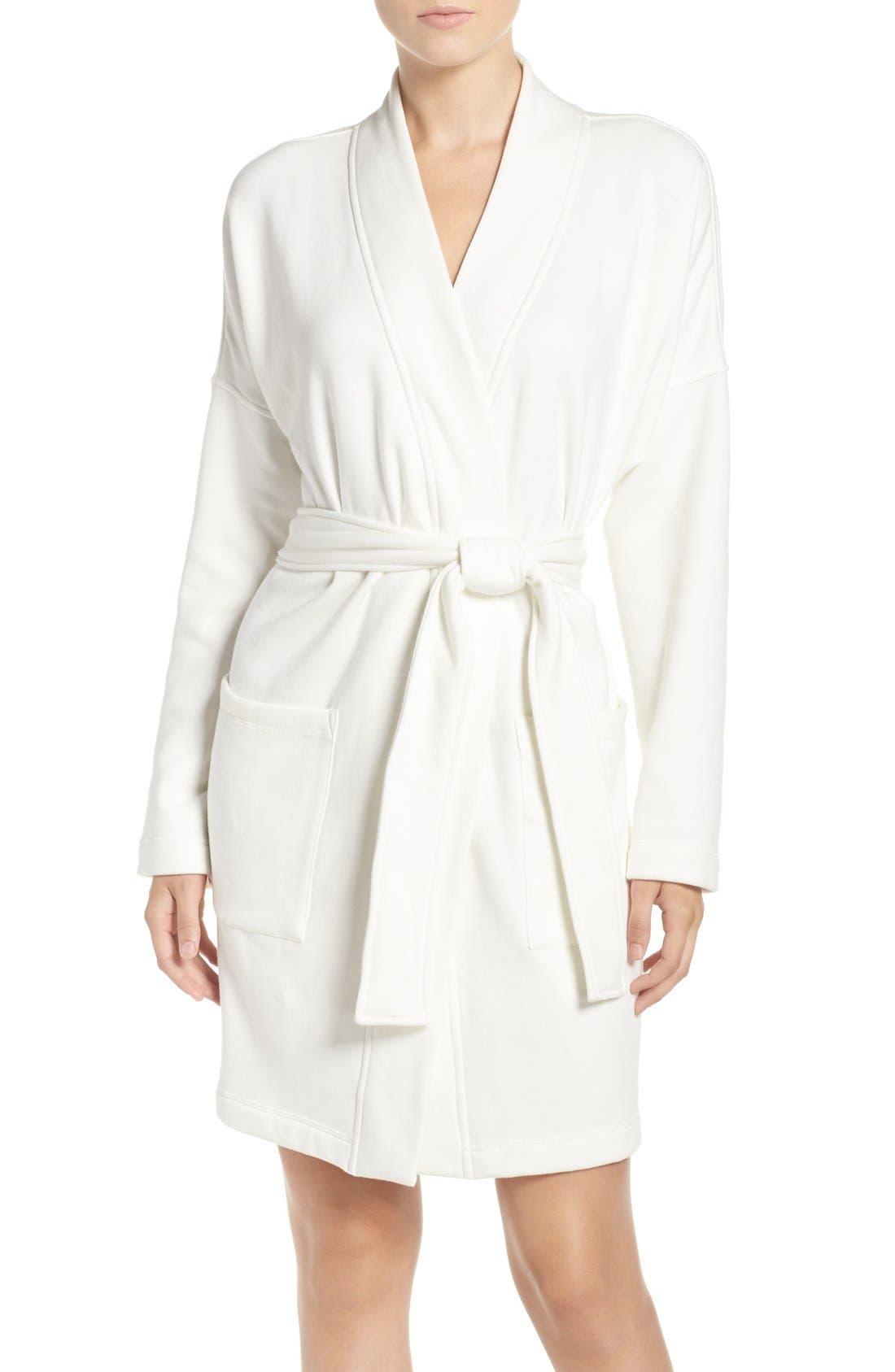 Alternate Image 1 Selected - UGG® 'Braelyn' Fleece Robe