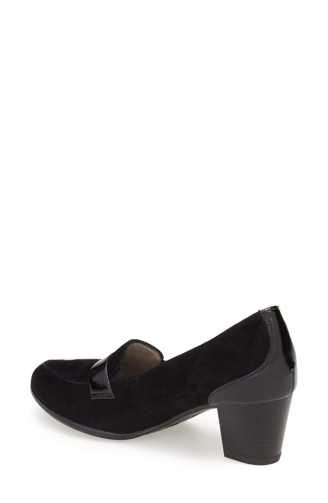 Alternate Image 2  - ara 'MarryAnn' Loafer Pump (Women)