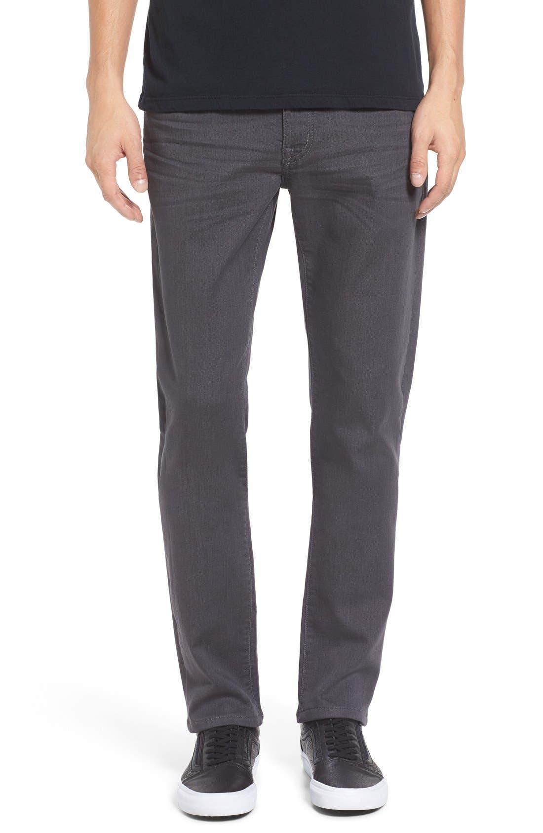 Torino Slim Fit Jeans,                             Main thumbnail 1, color,                             Fox Grey