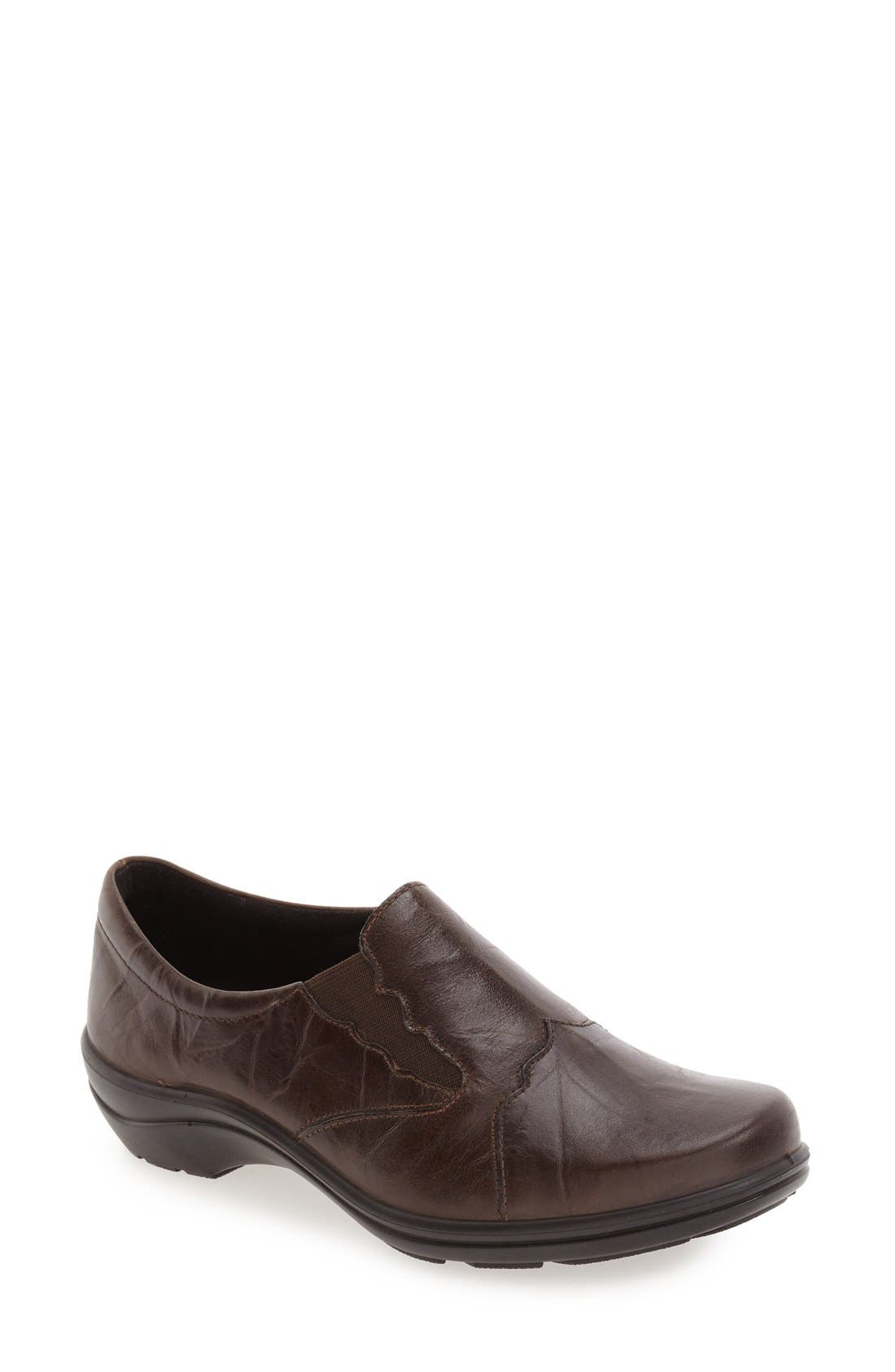 'Cassie 24' Flat,                             Main thumbnail 1, color,                             Tartuffo Leather