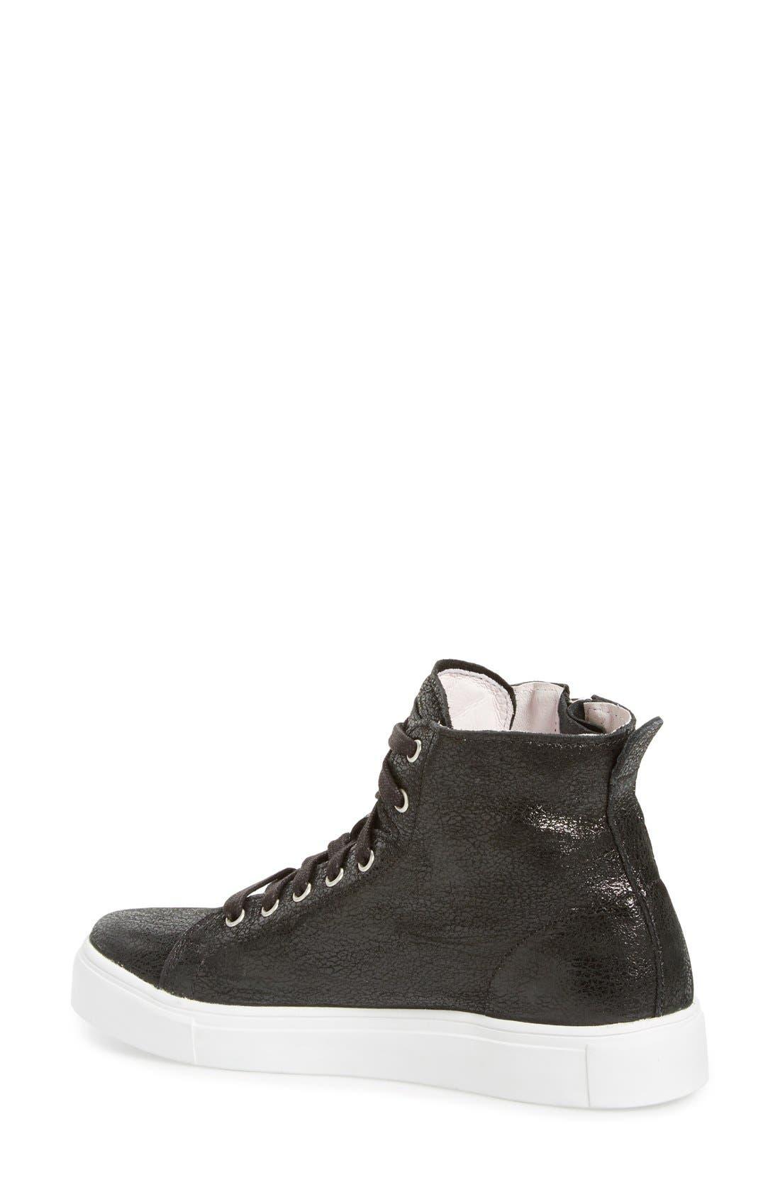 Alternate Image 2  - Blackstone 'LL65' High Top Sneaker (Women)