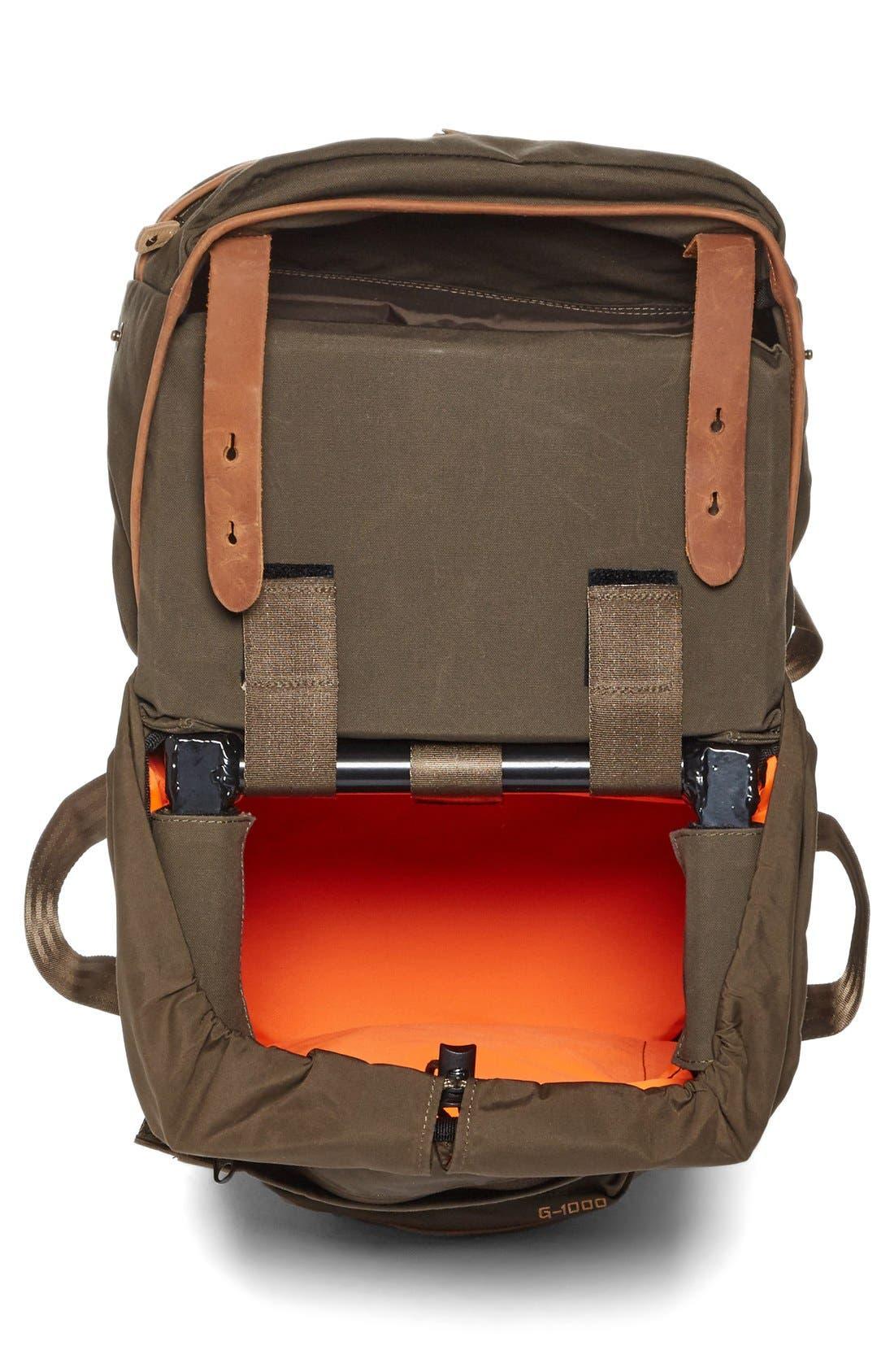 'Stubben' Backpack,                             Alternate thumbnail 4, color,                             Dark Olive