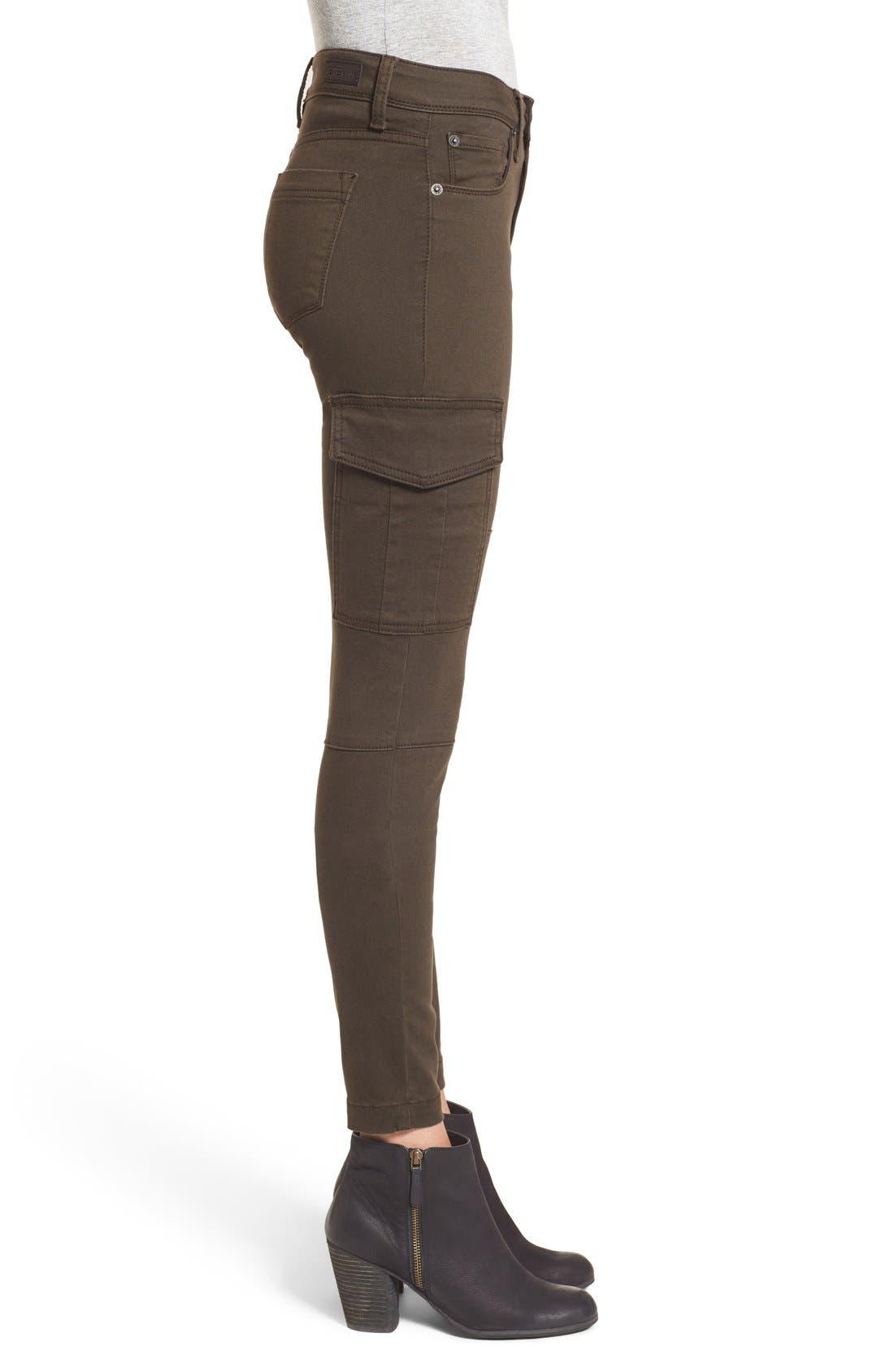 Alternate Image 4  - STS Blue Cargo Pocket Skinny Pants