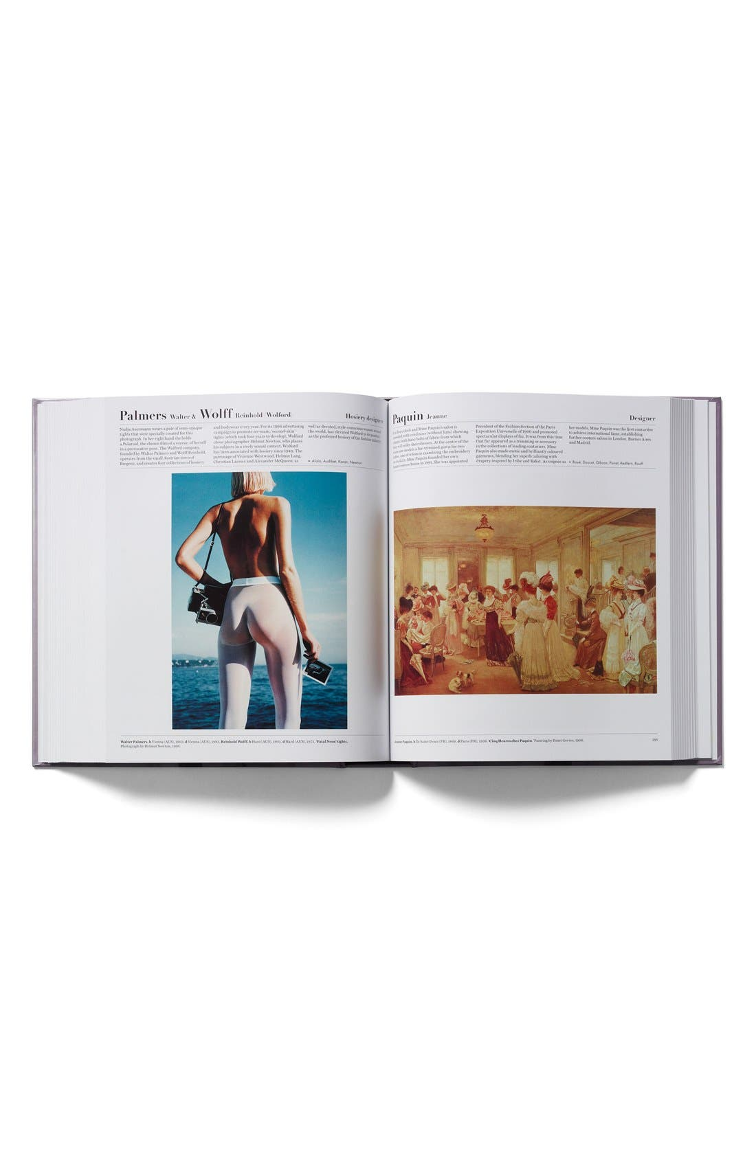 'The Fashion Book' Book,                             Alternate thumbnail 3, color,                             Purple