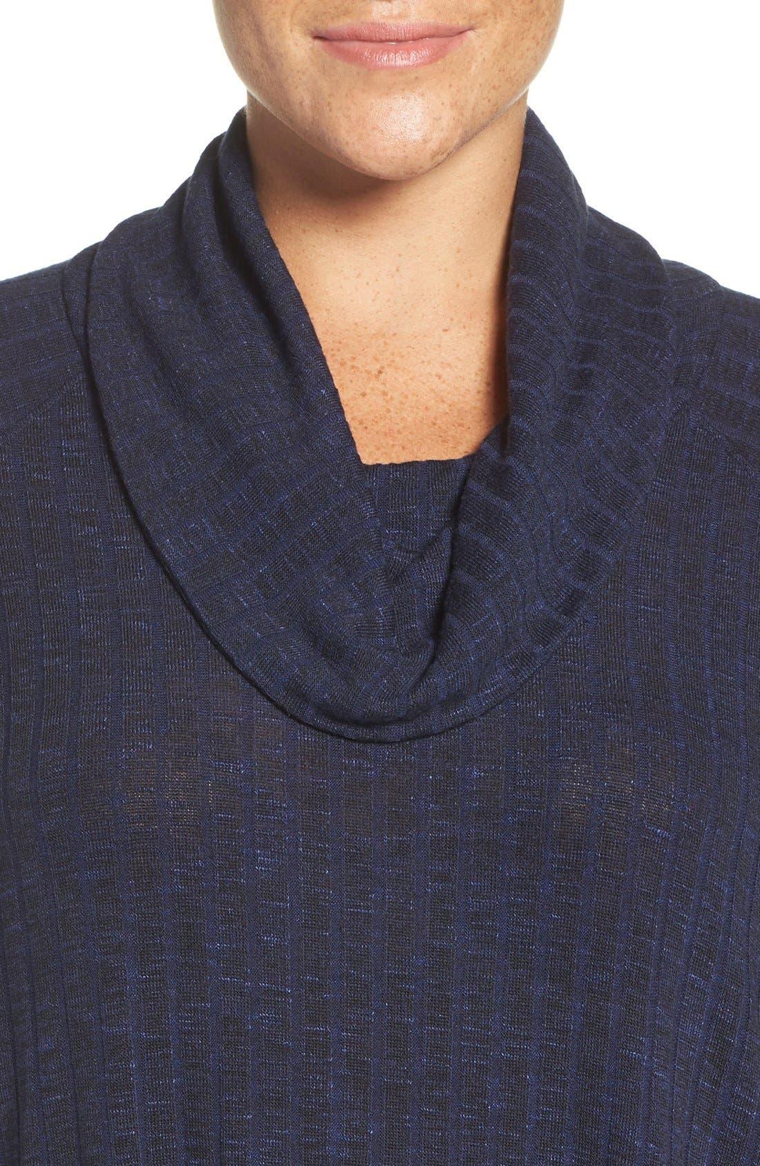Alternate Image 4  - Sejour Cowl Neck Top (Plus Size)