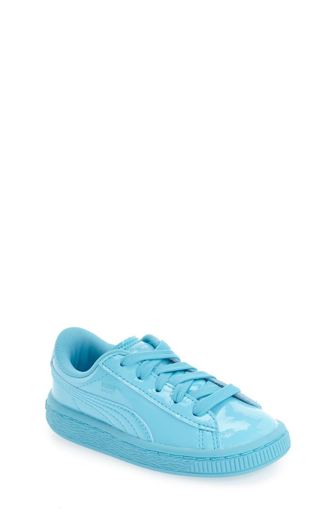 'Basket Classic' Shoe,                             Main thumbnail 1, color,                             Blue Atoll-Blue Atoll