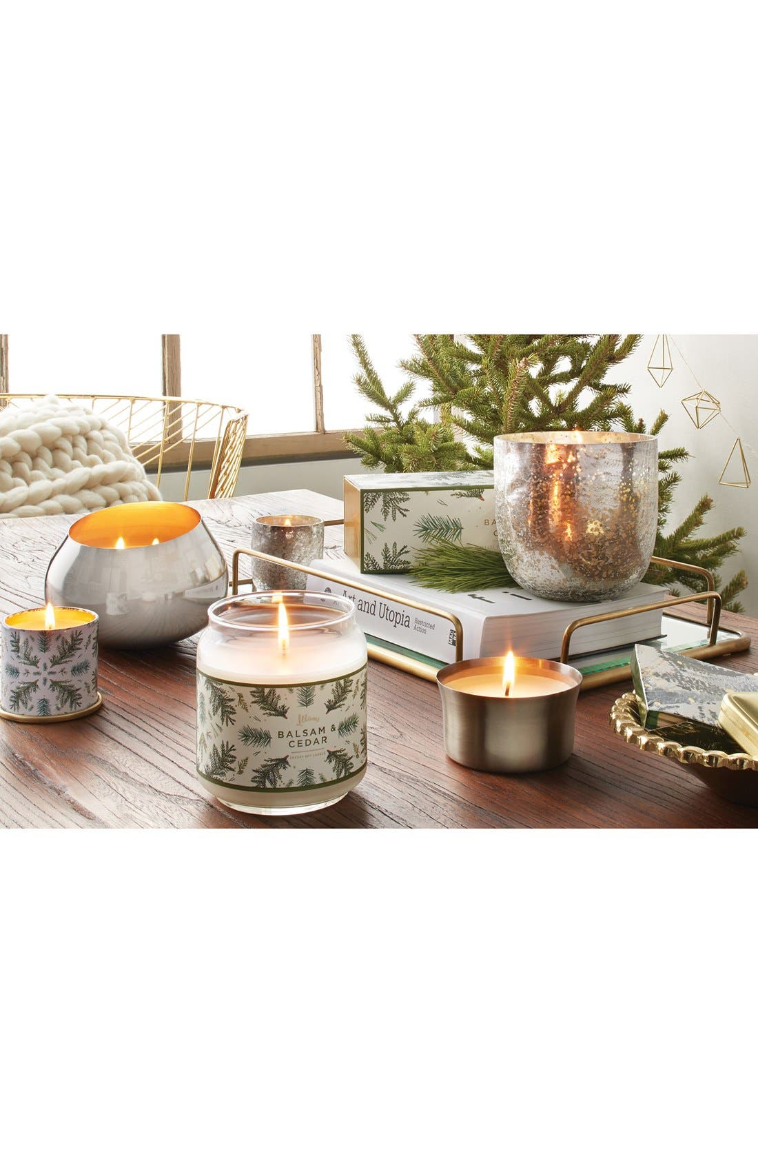 Alternate Image 3  - ILLUME® 'Mini Mercury' Scented Candles (Set of 3)