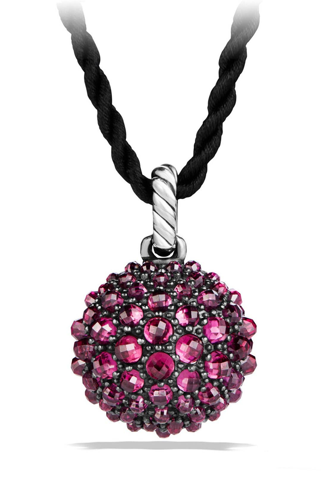 Osetra Pendant Necklace,                             Alternate thumbnail 3, color,                             Rhodalite