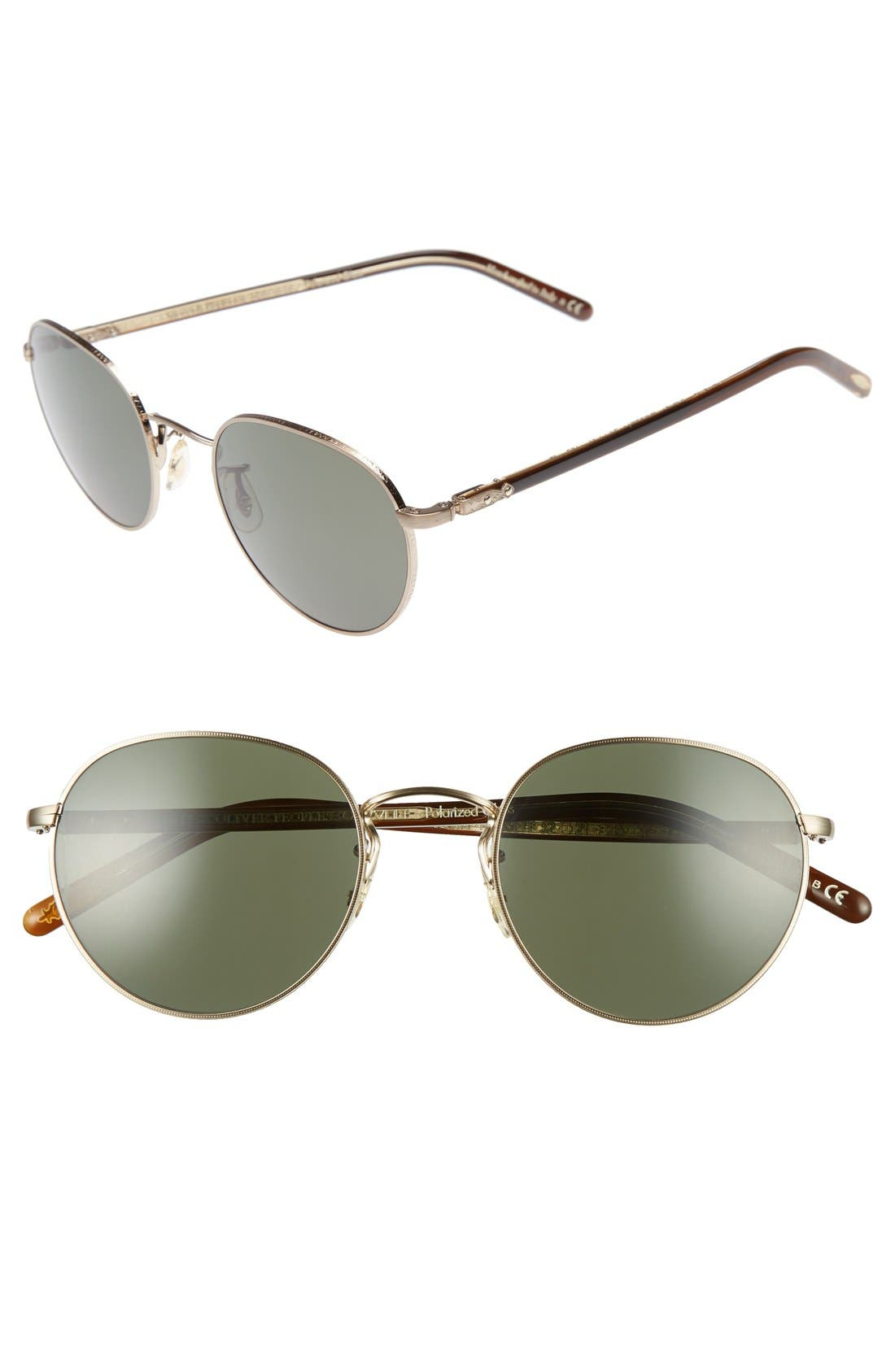Oliver Peoples 'Hasset' 52mm Sunglasses