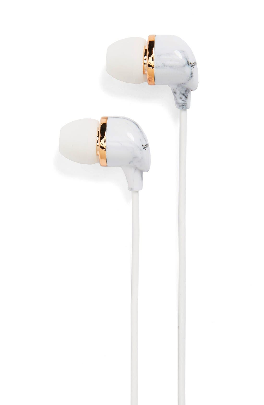 In-Ear Headphones,                         Main,                         color, White Marble
