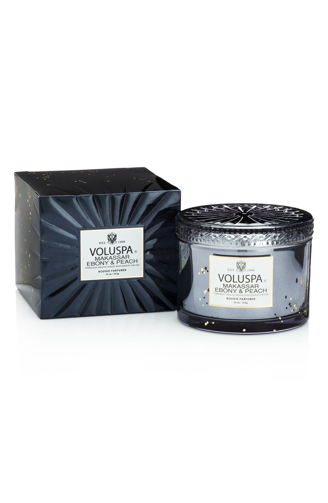 Alternate Image 1 Selected - Voluspa 'Vermeil - Makassar Ebony & Peach' Corta Maison Candle