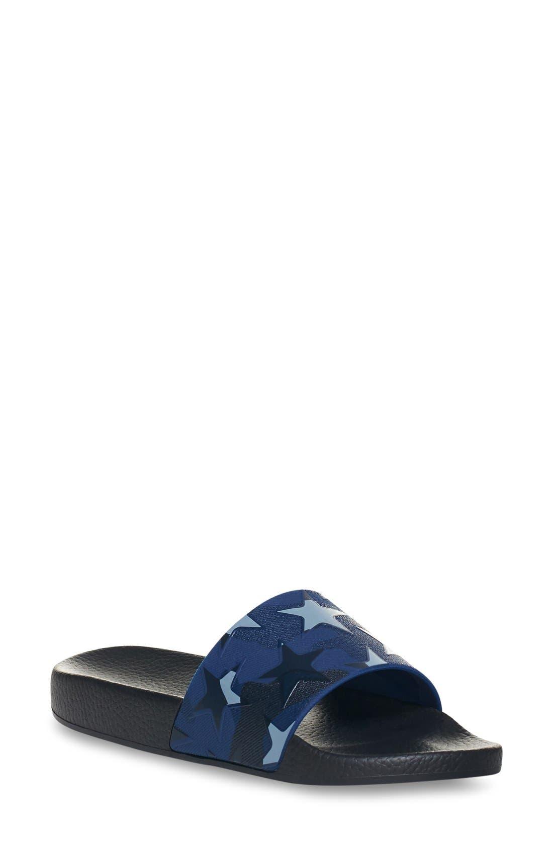 Alternate Image 1 Selected - Valentino Star Print Sport Sandal (Women)