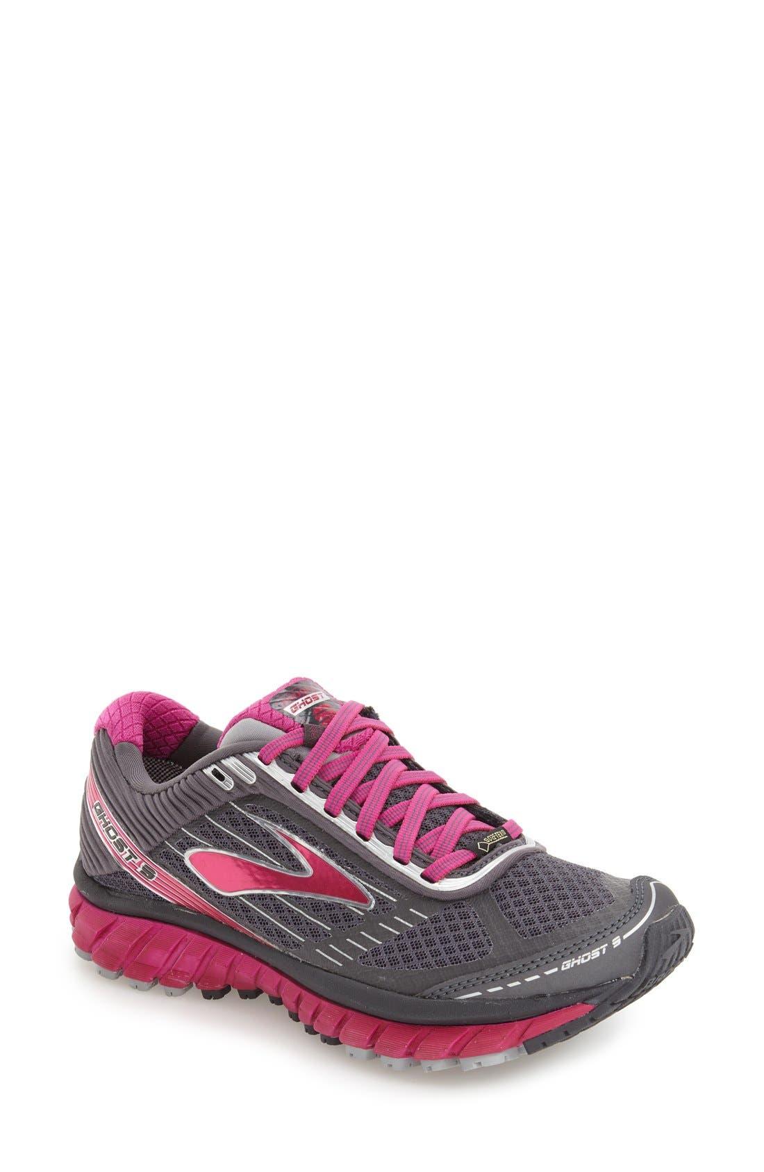 Brooks Ghost 9 Gore-Tex® Waterproof Running Shoe (Women)