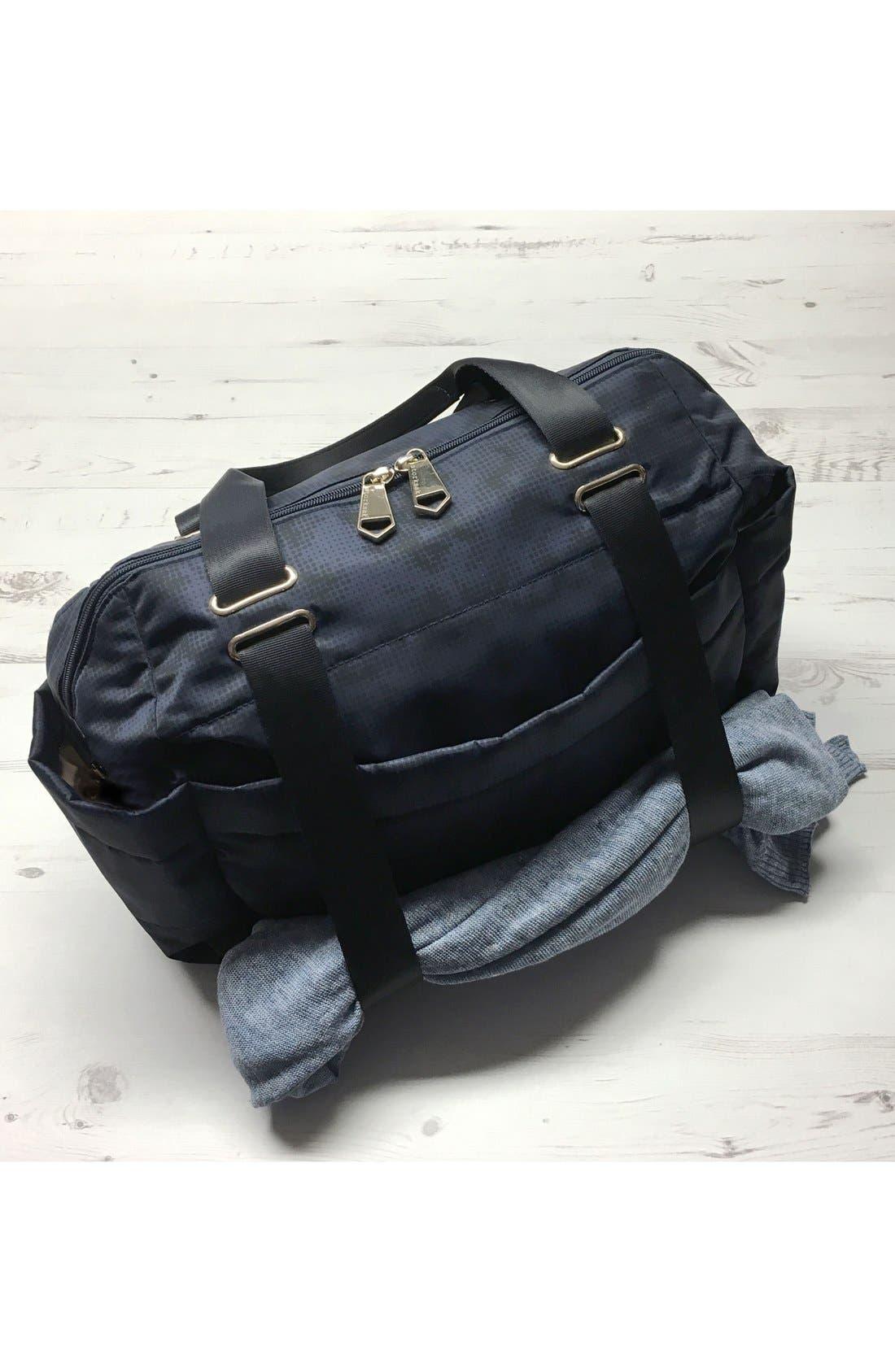 'Sandy' Diaper Bag,                             Alternate thumbnail 5, color,                             Navy