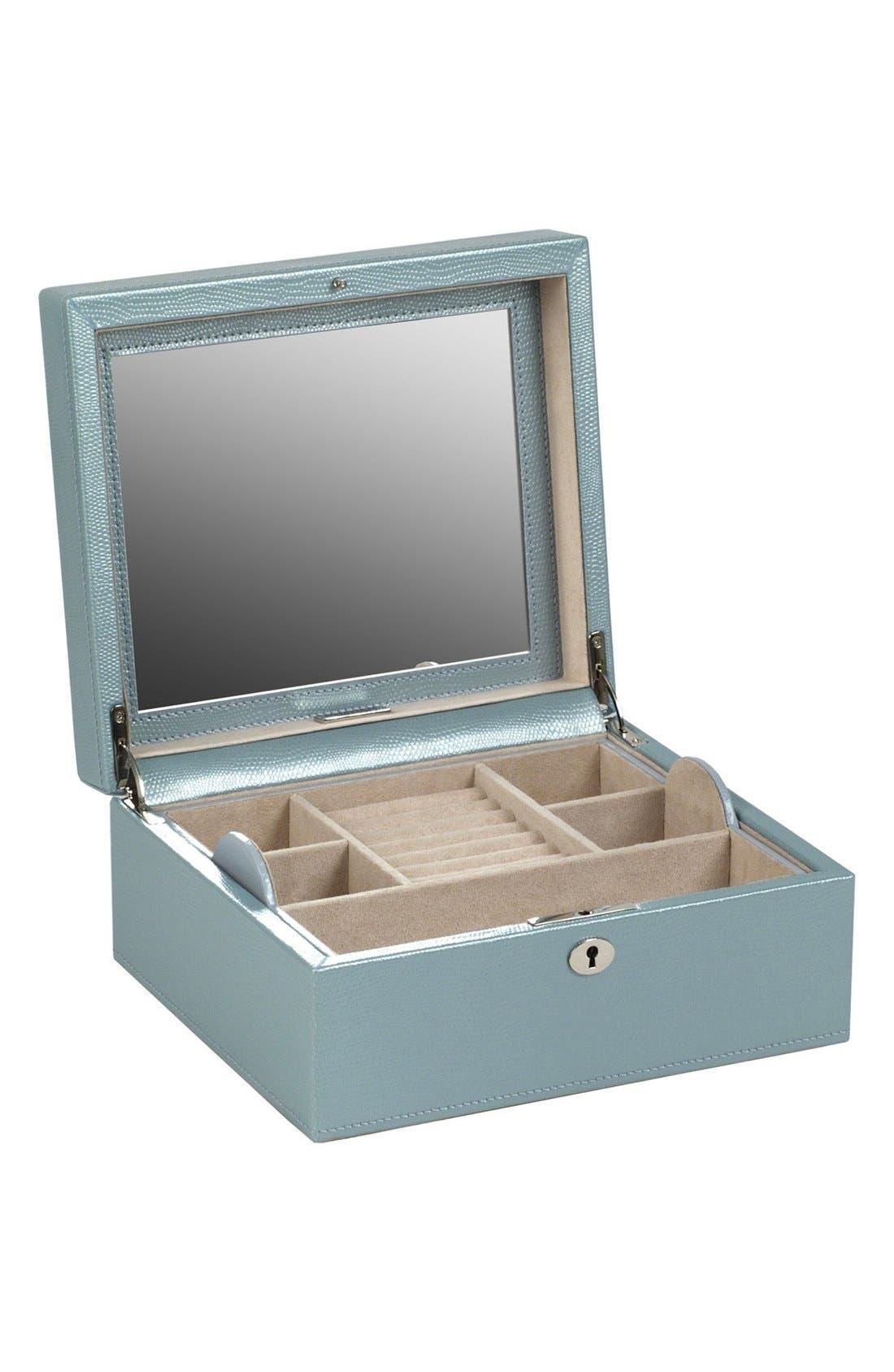 Alternate Image 3  - Wolf London Square Jewelry Box