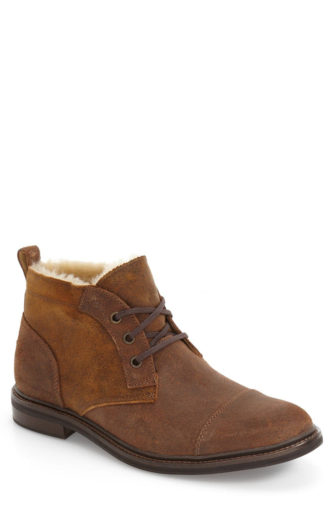 UGG<SUP>®</SUP> Galen Bomber Genuine Shearling Boot