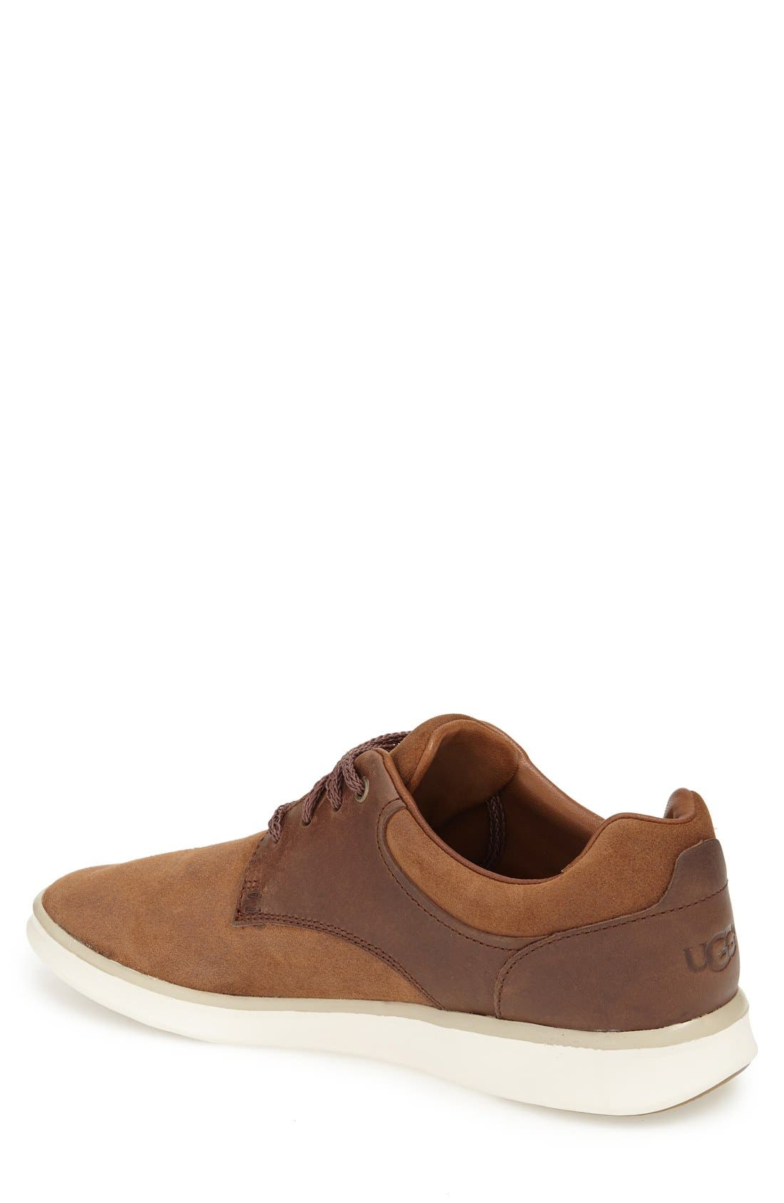 'Hepner' Sneaker,                             Alternate thumbnail 2, color,                             Chestnut