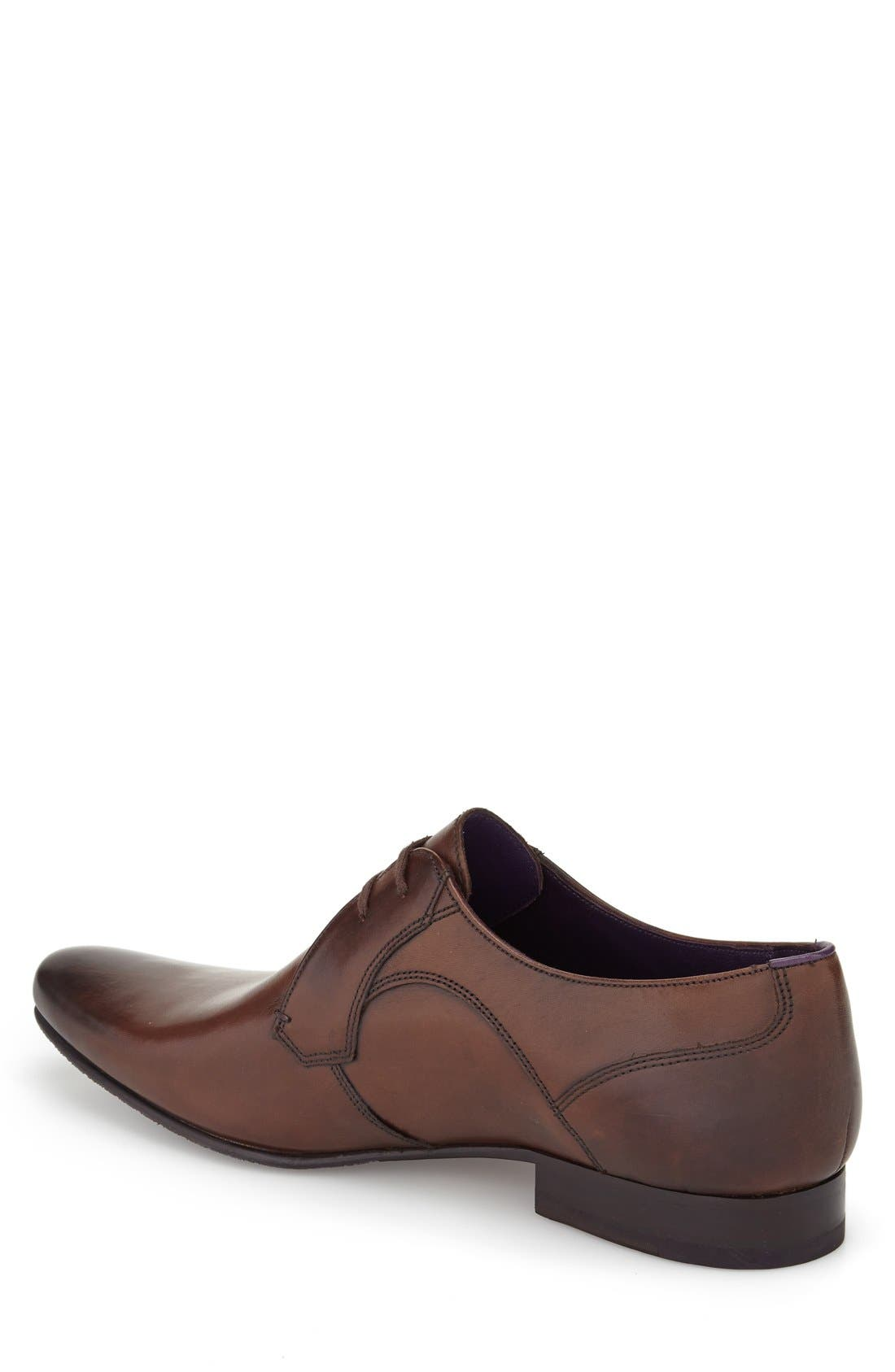 Alternate Image 2  - Ted Baker London 'Martt 2' Plain Toe Derby (Men)