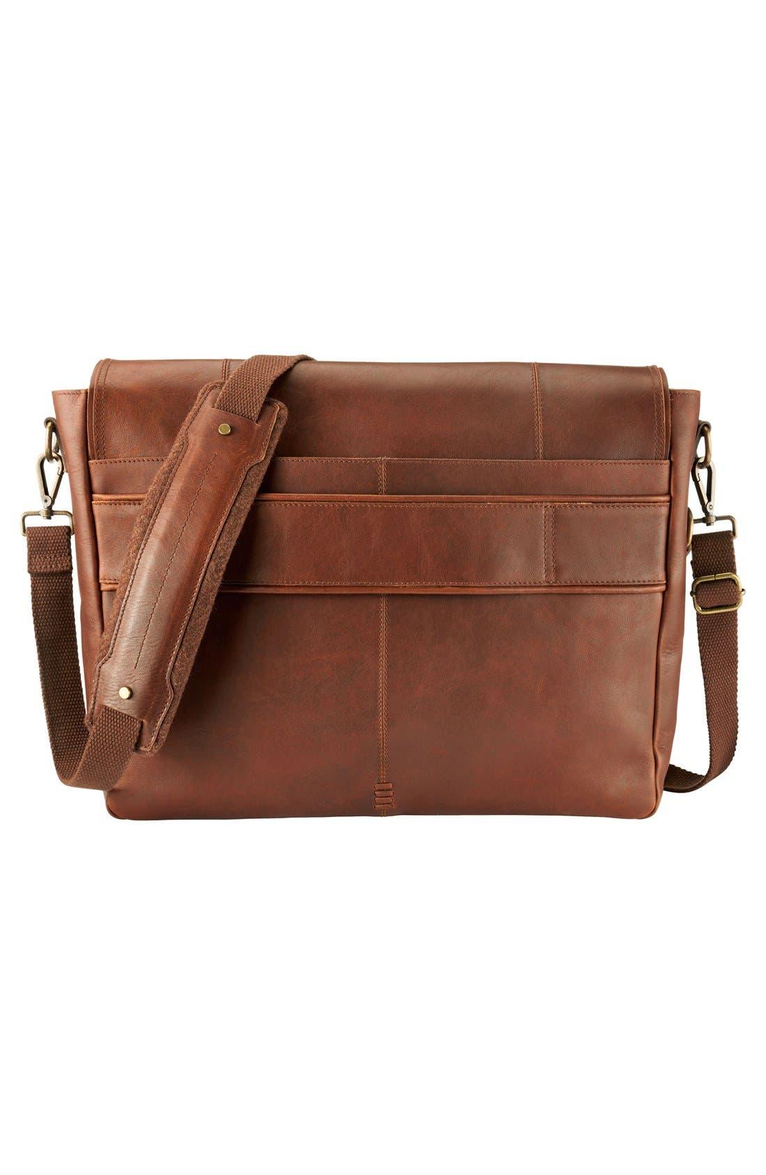 Alternate Image 3  - Timberland 'Walnut Hill' Leather Messenger Bag