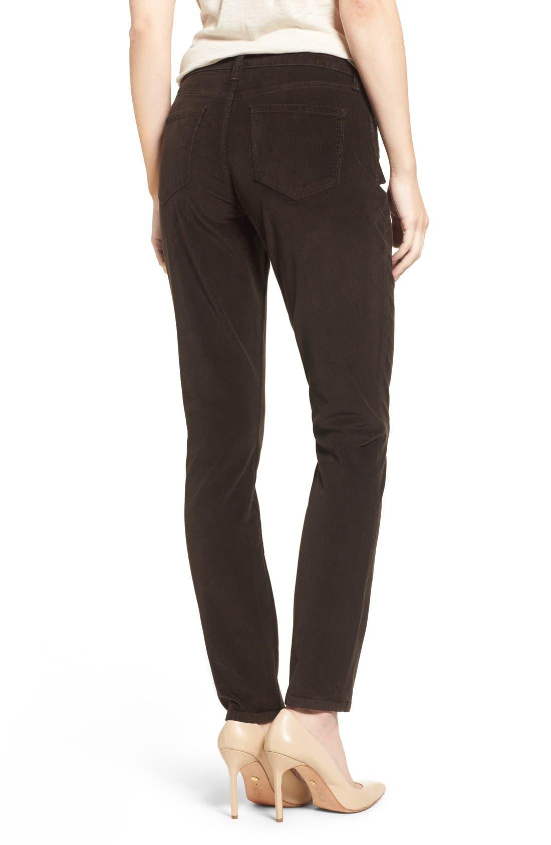 Alternate Image 2  - NYDJ 'Alina' Skinny Stretch Corduroy Pants (Regular & Petite)