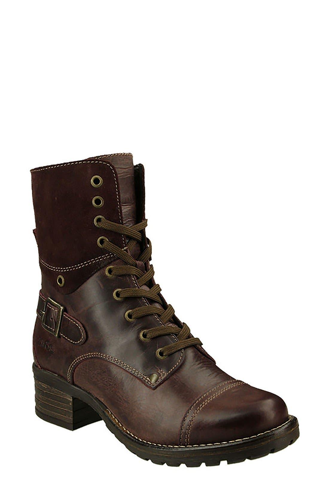Crave Boot,                         Main,                         color, Bordeaux Leather
