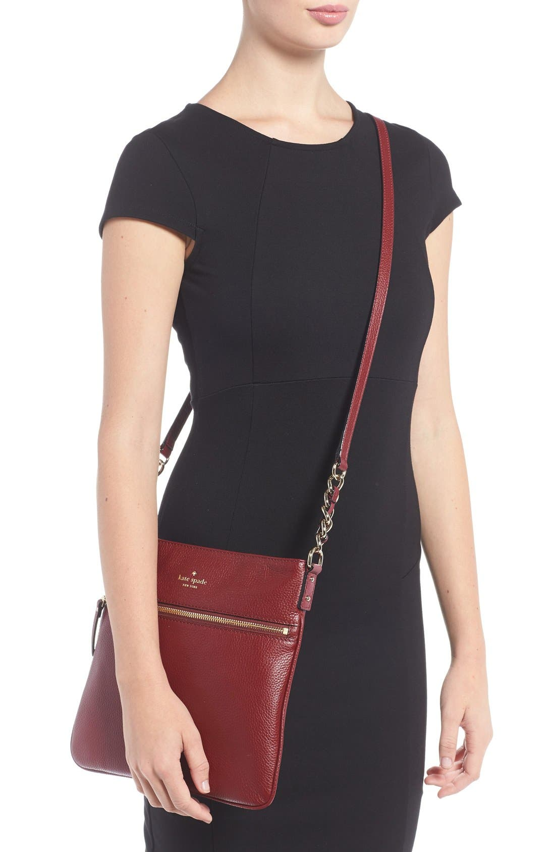 Alternate Image 2  - kate spade new york 'cobble hill - ellen' leather crossbody bag