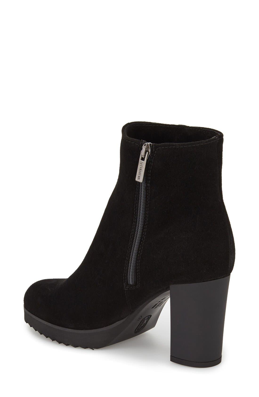 Alternate Image 2  - La Canadienne 'Myranda' Waterproof Block Heel Bootie (Women)